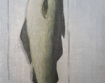 Oil painting of a Fish