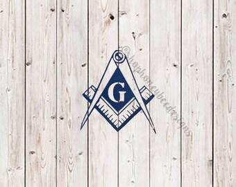 Masonic Decal*Mason Decal*Masonry Decal