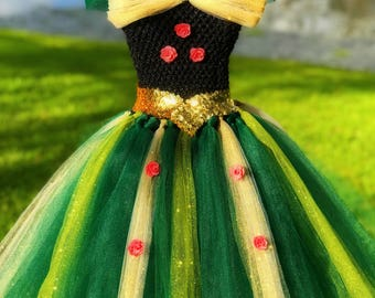 Princess Anna Coronation Tutu Dress