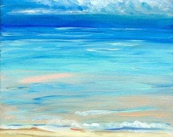Seascape Original Acrylic Painting