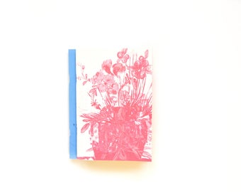 Red Cactus notebook - 100g ivory paper