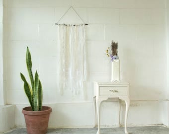 Custom Vintage Lace Wall Hanging- Flair Size