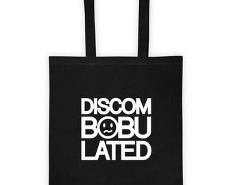 Discombobulated confused Tote bag