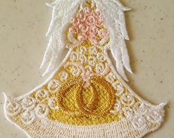 Free Standing Lace Wedding Angel