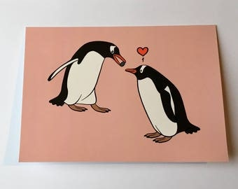 Penguin Love Gift Card