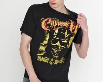 VINTAGE Black Skull Rock Metal Retro TABSON'S T-Shirt