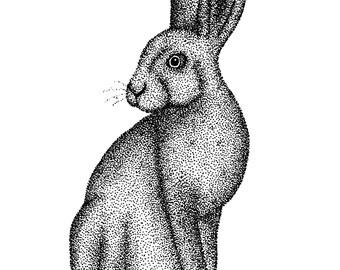 Hare (A5 Print)
