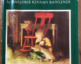 The Yearling, Marjorie Kinnan Rawlings, 1961 edition with illustratiins from the original 1939 edition by N.C. Wyeth