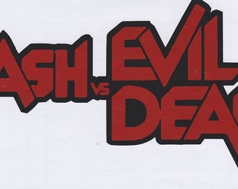 Ash vs Evil Dead permanent vinyl sticker