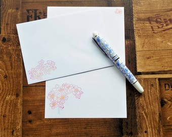 Spring Blossom Letter/Writing/Stationary Set