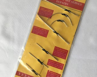 vintage collectible SEALED Unopened Bestmaid 1950s SEWING NEEDLES for Household Repairs- 7