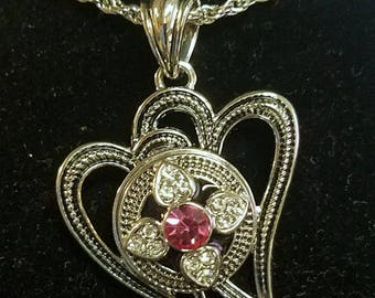 Heart2Heart Charm Necklace