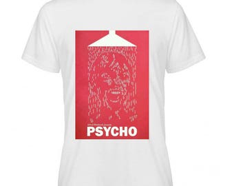 Psycho Movie Poster Tshirt