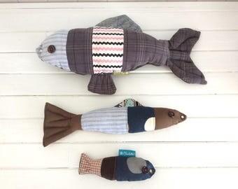 Doggies fish!