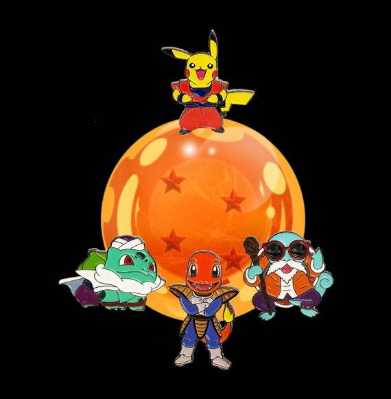 Preorder starter pokemon pins dragon ball z pins otaku like this item publicscrutiny Image collections