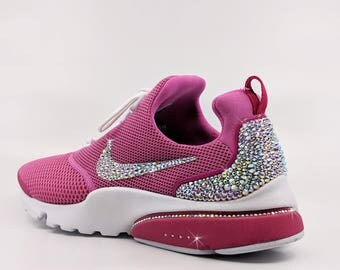 Custom Swarovski AB Crystal Nike Presto Fly / Pink