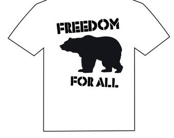 bear . freedom for all