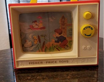 1966 Fisher Price Two Tune TV