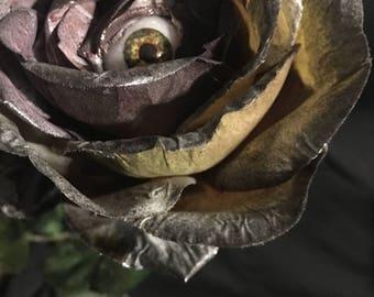 I Only Have Eyes For You, Long Stem Rose- Lilac/Black