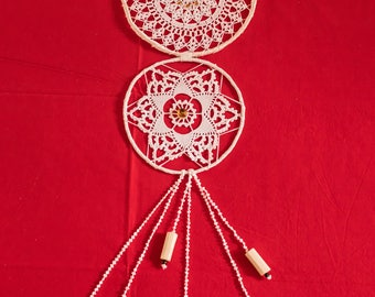 Dream catcher hand crafted Made in ITALY (DOUBLE MEDIUM)