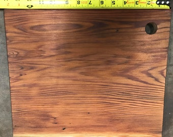 Solid Redwood Cutting/Serving Board