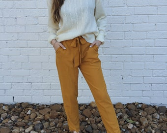 Creamy Vintage Fisherman Pullover Knit Sweater