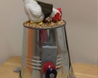 Pecking chicken automata