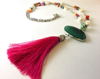 Chinese Tassel Necklace