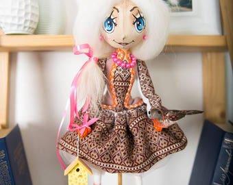 Handmade doll handmade
