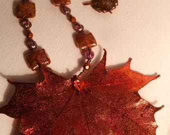 Maple Necklace