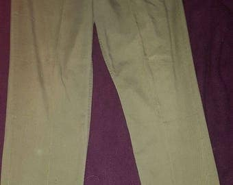 Rare US Army Vietnam era utility trousers