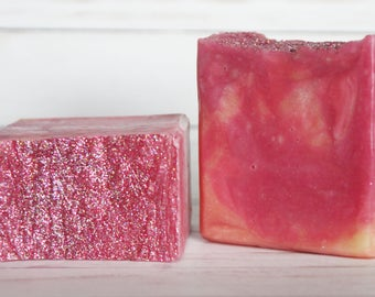 Girls Night Out MEGA soap bar - Love Spell Soap - Huge valentines day soap gift for her - Palm Free - Vegan Friendly