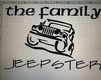 Jeep Vinyl Decals TEE Shirt