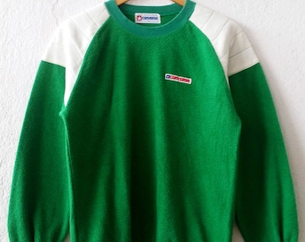 Vintage 90's Converse Spell Out Embroidery Sweatshirt Jumper Pullover Size Large (amms682)