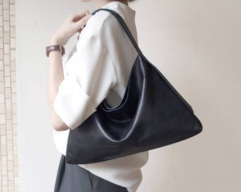 DTB Equilateral Triangle Hobo Bag