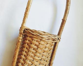 Wicker Bottle Basket.