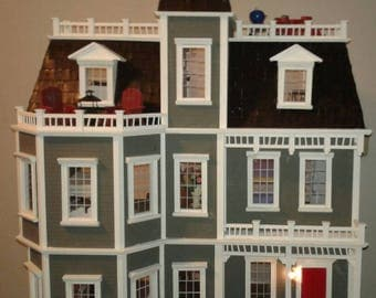 Related To This Item Dolls And Miniatures Scale Dollhouse Miniature Dollhouses Roomboxes Vermont Farmhouse