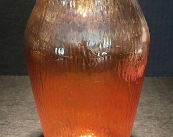 Carnival Glass Vase by Jeannette Glass Company