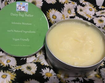 Daisy Hand Made Bag Balm/Butter Intense Moisture 100% Natural Vegan