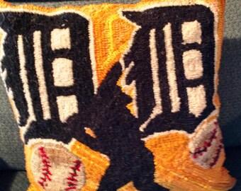 Detroit Tigers Pillow