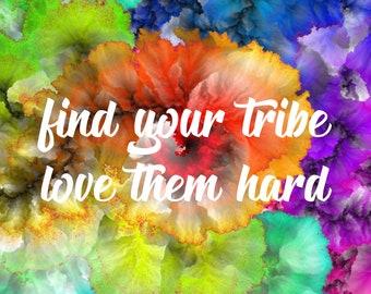 "Downloadable Print - ""Tribe"""