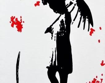 """Umbrella Series #2 Art Print 6x4"""""""