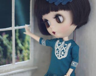Barbary Dress for Blythe Doll