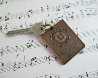 Vintage Hotel Fob and Key - Hyatt Regency Phoenix