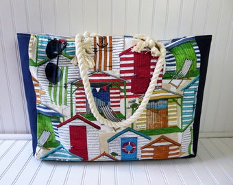 Large Beach Bag - Beach bags - Beach Tote Bag - Beach Bag Extra Large - Beach Tote - Cute Beach Bag - Beach Tote with Rope Handles