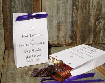 Fall Wedding Favors Lottery Ticket