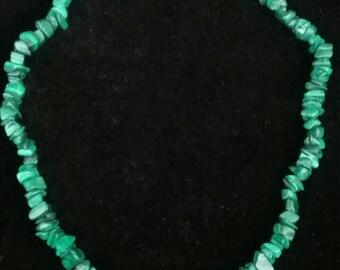 Necklace, Vintage Necklace, Vintage Jewelry, Beaded Necklace, Fashion Necklace, Fashion Jewelry, Chip Bead Necklace, Howlite Beads Necklace
