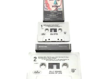 80's billy squier - signs of life | cassette tape