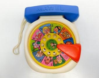 1984 Mattel pull string telephone