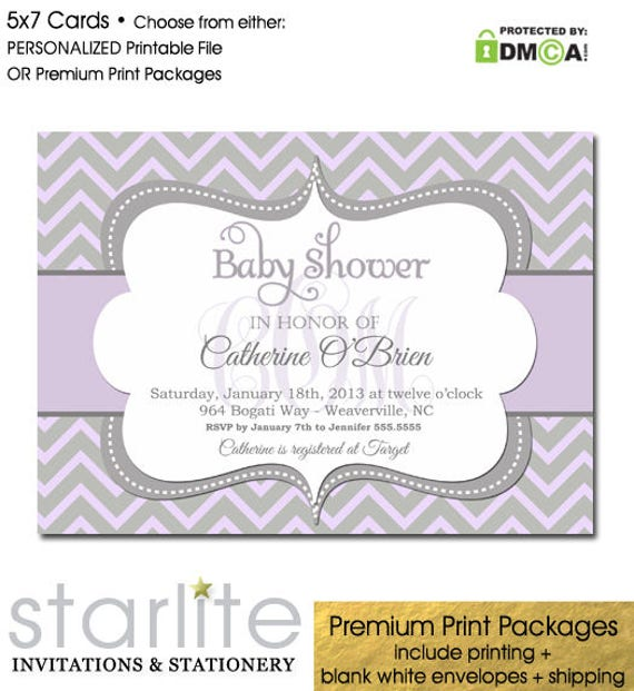 lilac baby shower invitation girl girl baby shower invitation lilac